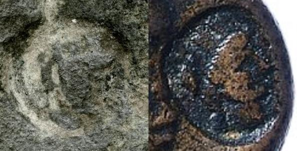 Tyche countermark